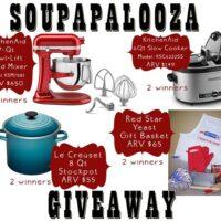 soupapalooza giveaway prizes