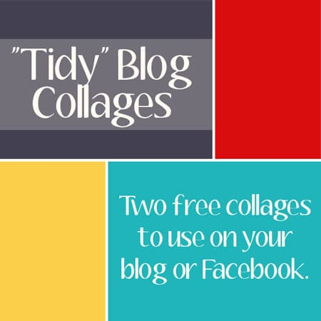 Free tidy blog collage from everydayelements