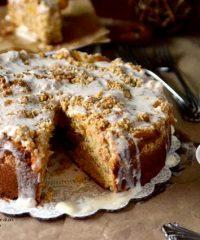 Peaches cream Coffee Cake