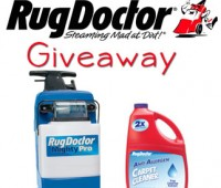 Rug Doctor Giveaway at TidyMom