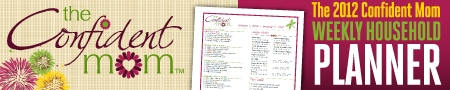 The Confident Mom planner