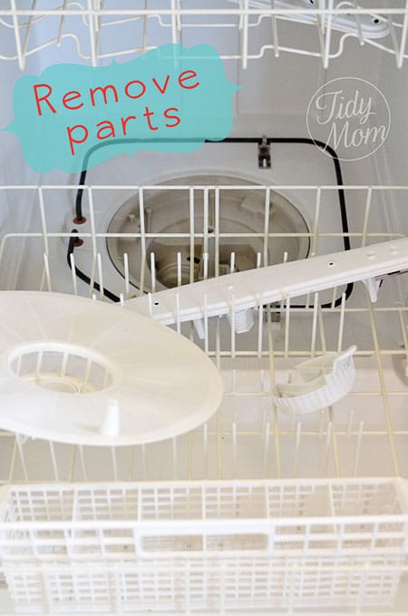 How To Clean A Dishwasher House Cleaning Spring Cleaning
