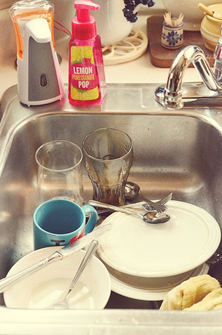 dirty sink - TidyMom