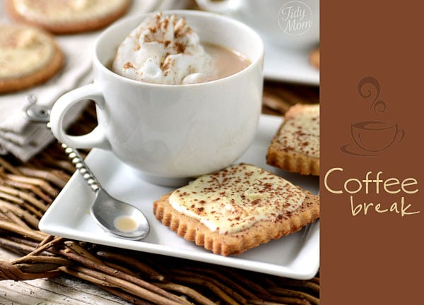 Cappuccino Cookies Coffee Break recipe at TidyMom.net