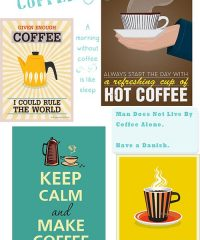 Coffee Love prints