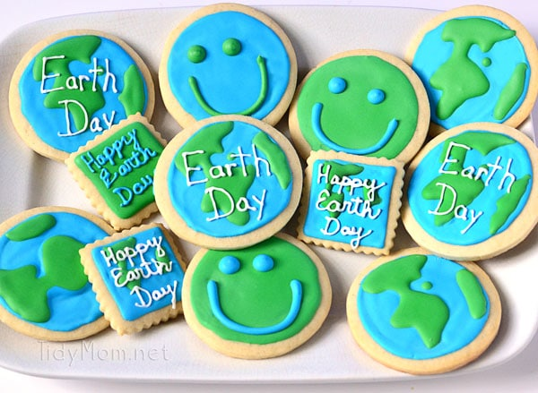 Earth Day Cookies-TidyMom