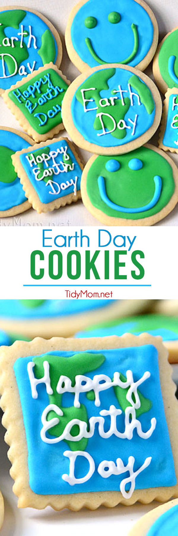 Earth Day Cookies at TidyMom.net