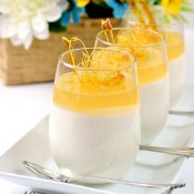 honey panna cotta
