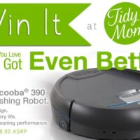 iRobot Scooba 390 Win It at TidyMom