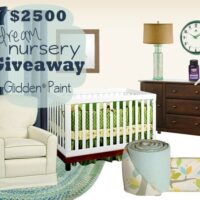 Nursery Giveaway with Glidden