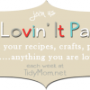 I'm Lovin It Party at TidyMom.net every week!