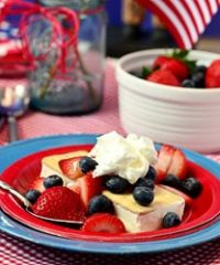 Patriotic Shortcake Ice Cream Sandwich at TidyMom.net