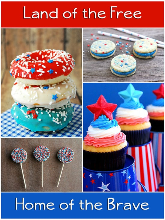 Patriotic Sweet Treats at TidyMom.net