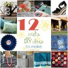 12 ideas for Getting Crafty at TidyMom.net