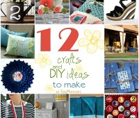 12 ideas for Getting Crafty at TidyMom.net