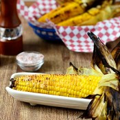 Grilled Corn on the Cob at TidyMom.net