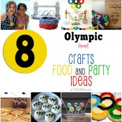Olympics Crafts Treats and party ideas