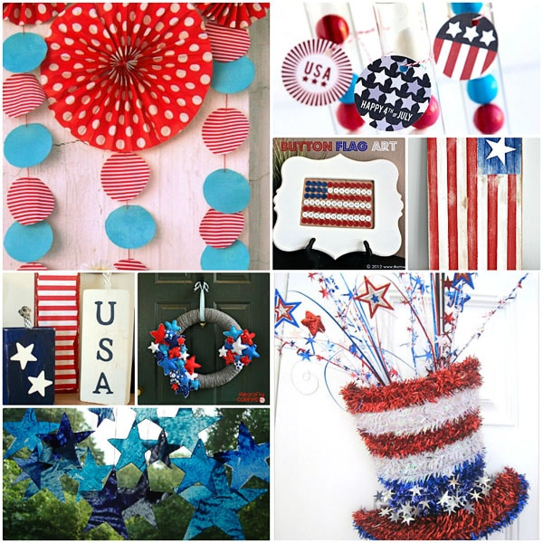 Star Spangled Crafts at TidyMom.net