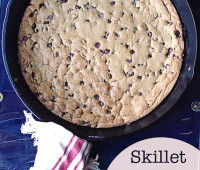 skillet chocolate chip cookie by No 2 Pencil at TidyMom.net