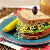 favorite veggie sandwich
