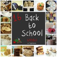 16 Back To School Treats at TidyMom.net