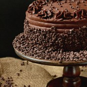 Chocolate Frosted Cake at TidyMom.net