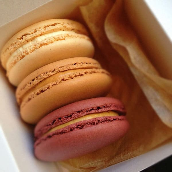 NYC macarons by Amanda Bottoms