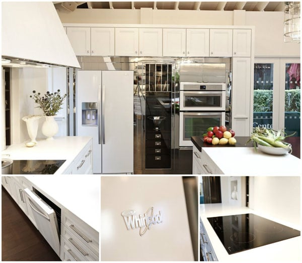 Whirlpool White Ice Collection in 2012 House Beautiful's Kitchen of the Year