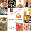 12 Fall treats and crafts at TidyMom.net