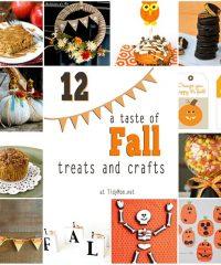 12 Fall treats and crafts at TidyMom.net