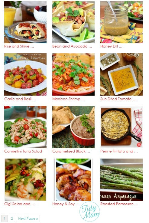 Olive Oil Recipes at TidyMom