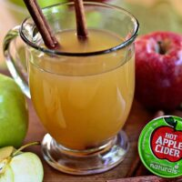 Green Mountain Hot Apple Cider K-cups at TidyMom.net