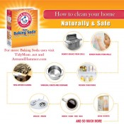 How to clean clean your home using ARM &amp; HAMMER baking soda at TidyMom.net