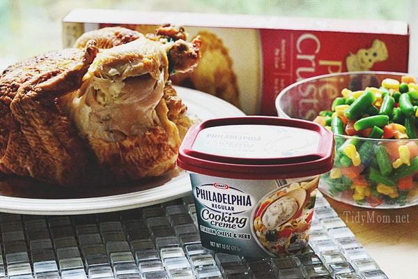 Ingredient for Easy Weeknight Chicken Pot Pie