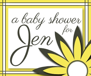 Virtual Baby Shower for Jen my Kitchen Addiction