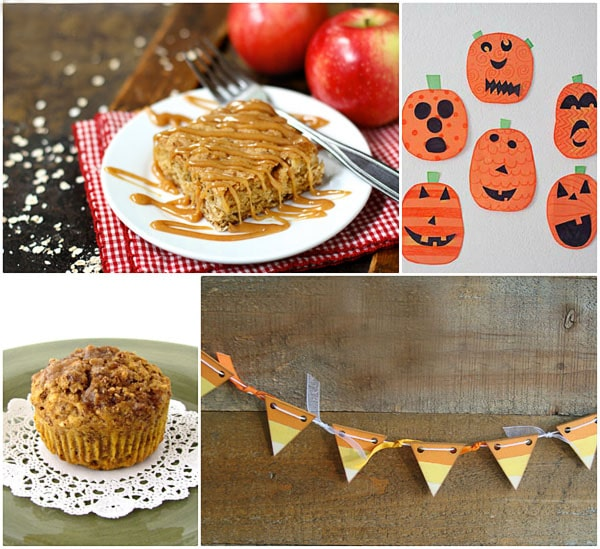 a taste of fall treats and crafts at TidyMom.net