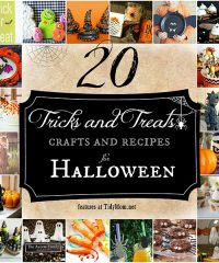 20 Crafts and Treats for Halloween at TidyMom.net
