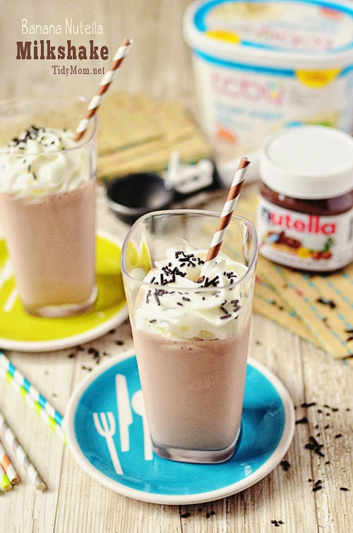 Banana Nutella Milkshake Recipe | Blendtec Blender