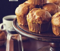 Glazed Pumpkin Doughnut Muffin Recipe TidyMom