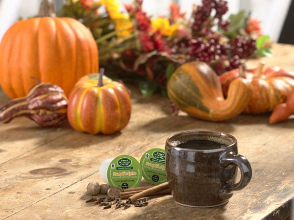 Green Mountain Coffee Pumpkin Spice K-cups at TidyMom.net