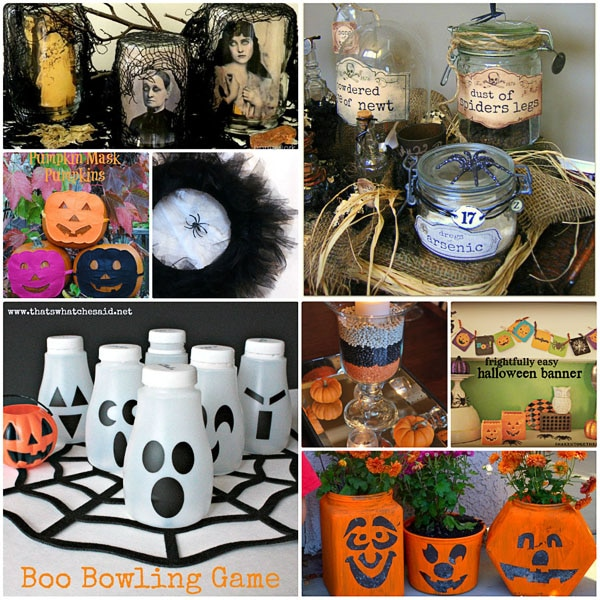 Halloween DIY Projects at TidyMom.net