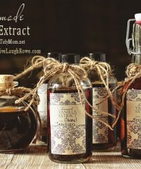 How to make Vanilla Extract TidyMom.net
