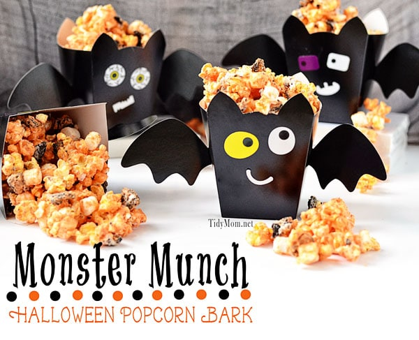Monster Munch Popcorn Bark