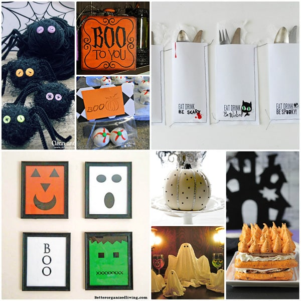 spooky halloween projects at TidyMom.net