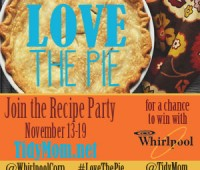 4th annual Love the Pie party with Whirlpool at Tidymom.net