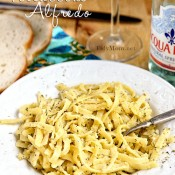 Best Ever Fettuccine Alfredo Recipe at TidyMom.net