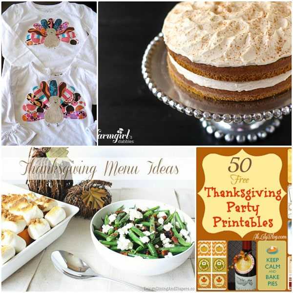Thanksgiving ideas at TidyMom.net