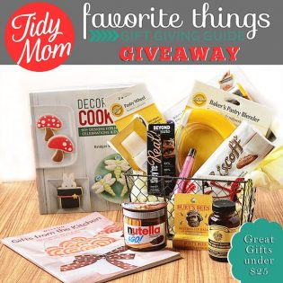 TidyMom Favortie Things Under $25 Giveaway