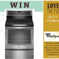 Win a Whirlpool Range Love the Pie 2012 at TidyMom.net