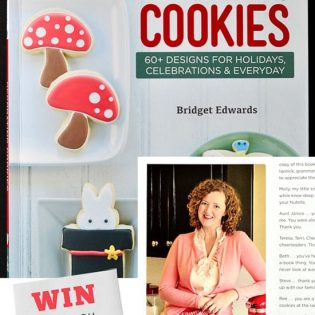 Win a copy of Decorating Cookies by Bridget Edwards at TidyMom.net